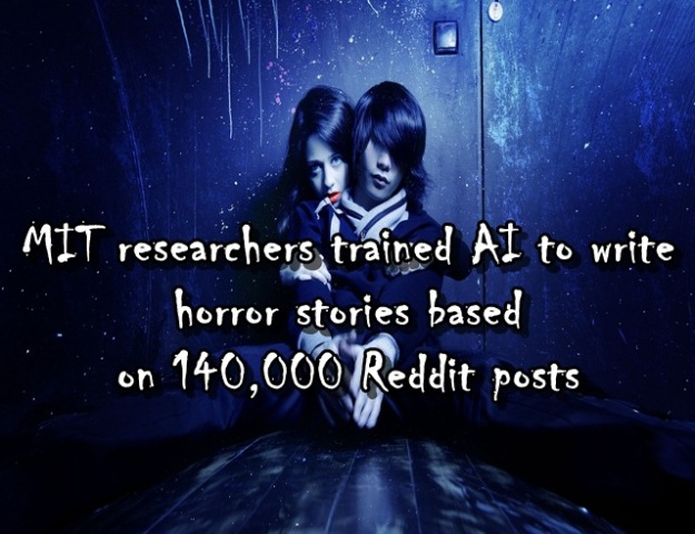 MIT researchers trained AI to write horror stories based on